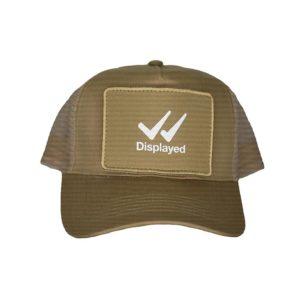 Displayed Clothing abbigliamento personalizzato sportivo cappello beige