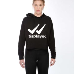 Displayedclothing felpa nera