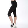 Displayedclothing leggins corto nero 3/4