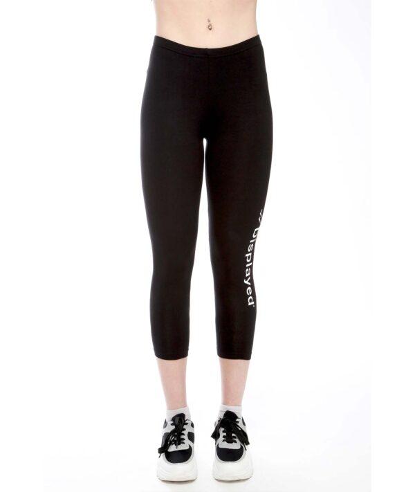 Displayedclothing leggins lungo nero