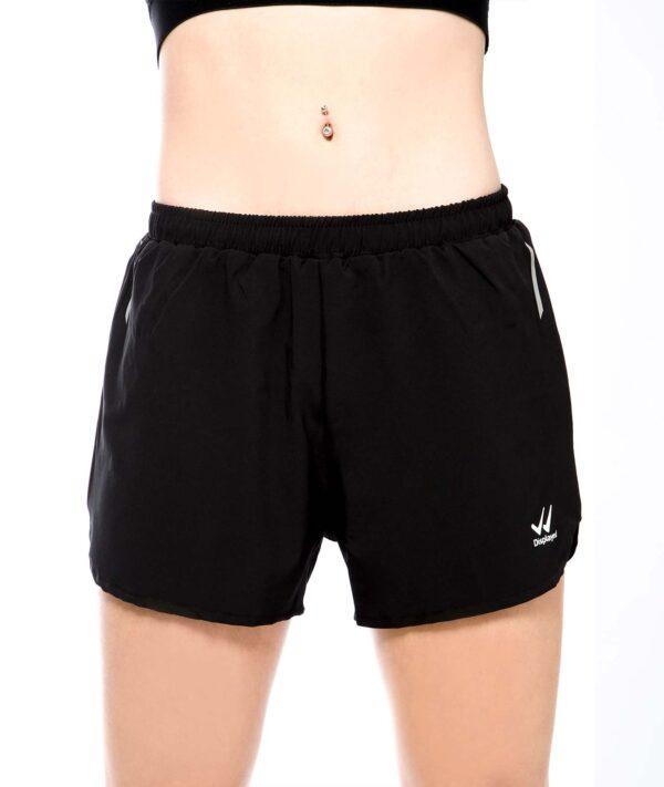 Displayedclothing pantaloncino corto nero