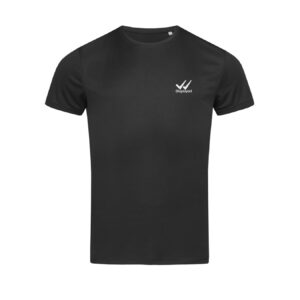 Displayedclothing t-shirt Active uomo nera