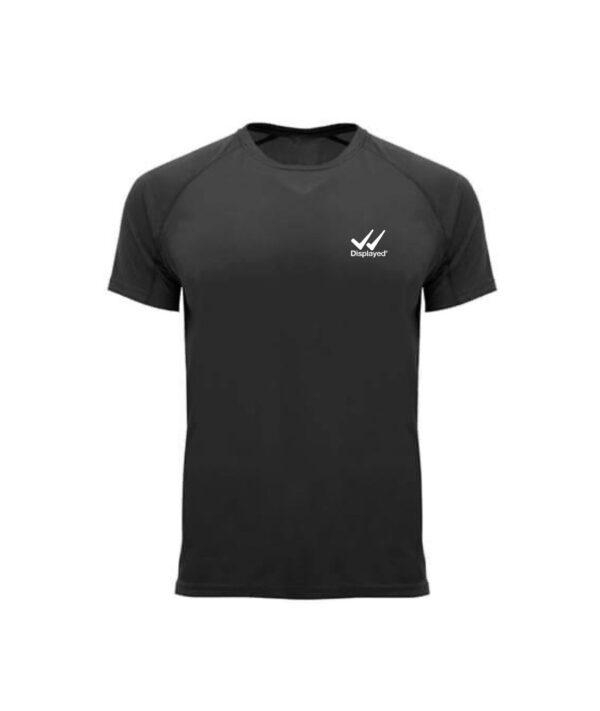 Displayedclothing t-shirt sport basic nera